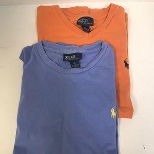 Polo by Ralph Lauren 2pc T-shirt's S